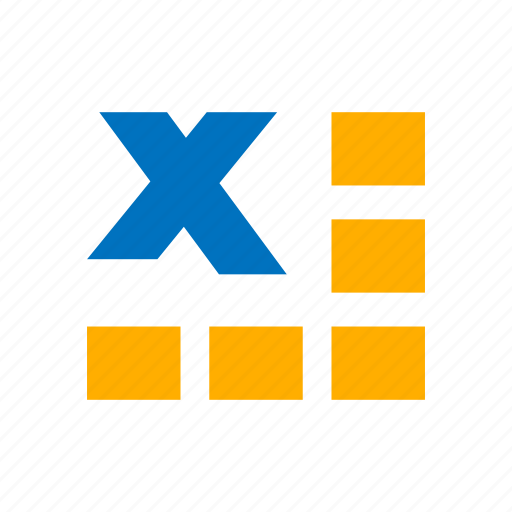 excel, microsoft excel, spreadsheet, table icon