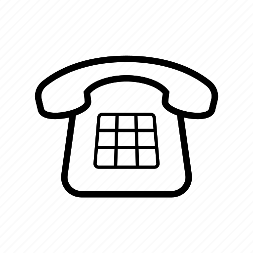 desk, phone, telephone icon