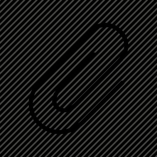 clip, fastener, paper icon