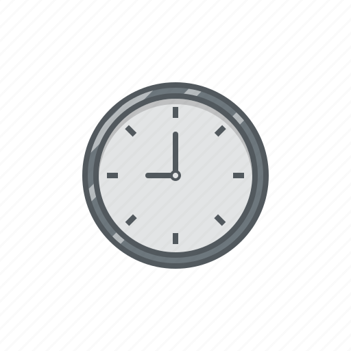 clock, clock icon, wall clock, wall clock icon, wallclock icon
