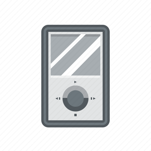 ipod icon, music, music player, music player icon, player icon