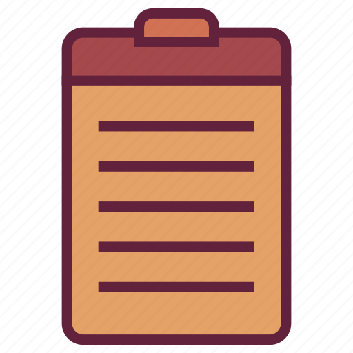 list, office, schedule, task, untitled icon