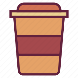 bottle, coffee, cup, drink, office, untitled icon