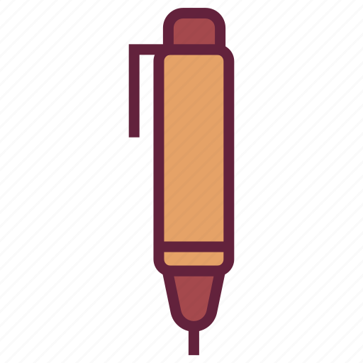 flatpen, office, pen, untitled, writing icon