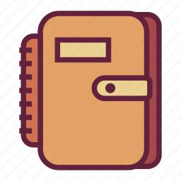 book, document, office, untitled icon