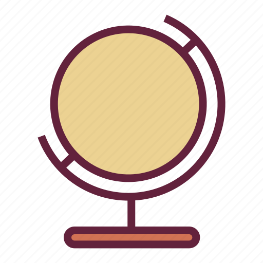 earth, globe, office, untitled icon