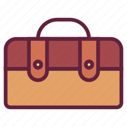 bag, office, suitcase, untitled icon
