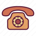 call, office, phone, untitled icon