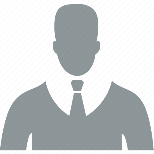 avatar, man, office, user icon