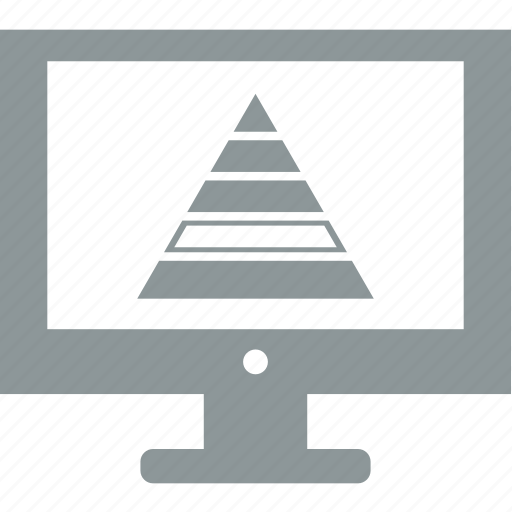 computer, electronics, monitor, office, technology icon