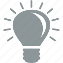 bulb, idea, lamp, light, office icon