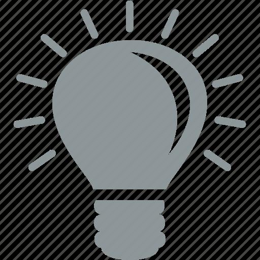 bulb, idea, lamp, light, office icon