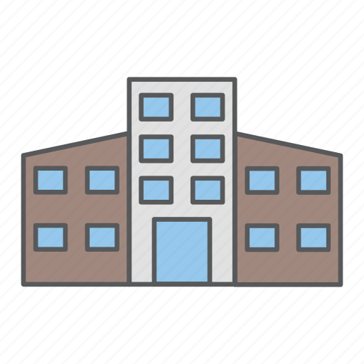 building, business, design, office icon