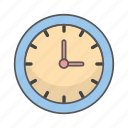 business, clock, design, office icon