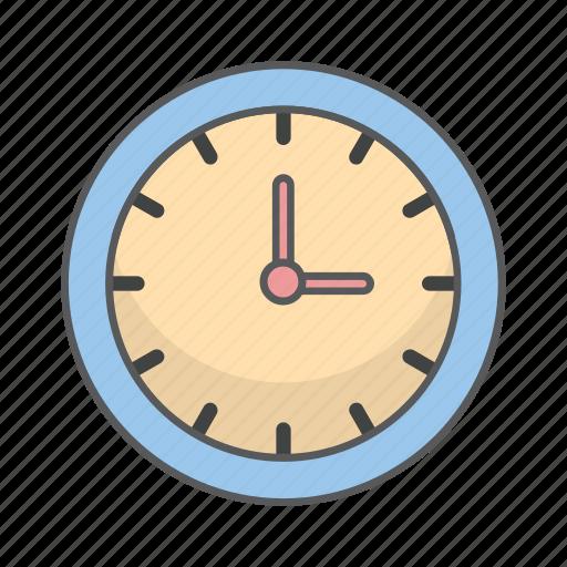 business, clock, design, office icon