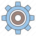 business, design, gear, office icon