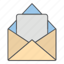 business, design, mail, office icon