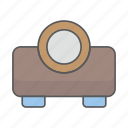 business, design, office, projector icon