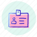 award, badge, label, office, secure, tag icon