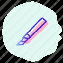 blade, cut, cutter, office, scissor, tool icon