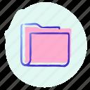 data, document, documents, file, folder, folders, storage icon