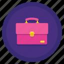 bag, briefcase, portfolio, suitcase