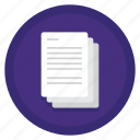 a4, copier, documents, paper, paperwork, us letter icon
