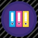 files, filing, folders icon