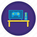game room, games, gaming, gaming room icon
