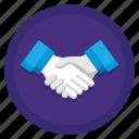 agreement, deal, handshake, partnership, shaking hands icon