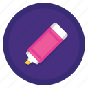 highlight, highlight pen, highlighter icon