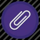 paper clip, paperclip icon