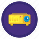 projecting, projector icon