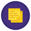 note, sticky, sticky notes icon