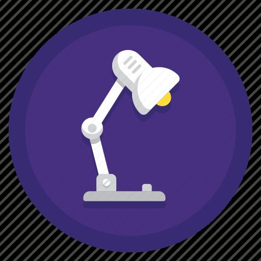 lamp, light, lighting, table lamp icon