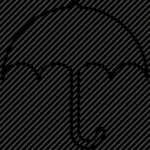insurance, protection, umbrella icon