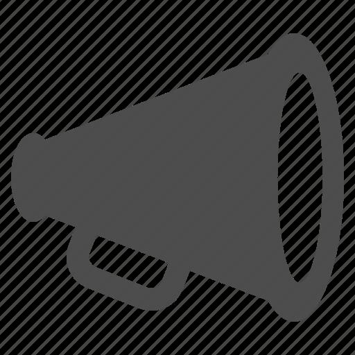 advertising, bullhorn, loudspeaker, marketing, megaphone icon