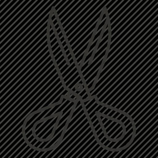 cut, cutting, office, school, scissor, scissors, tool icon