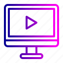 computer, music, office, pc, play, refresh, stuff icon