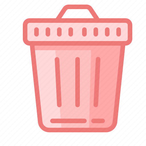 basket, delete, file, garbage, trash, waste icon