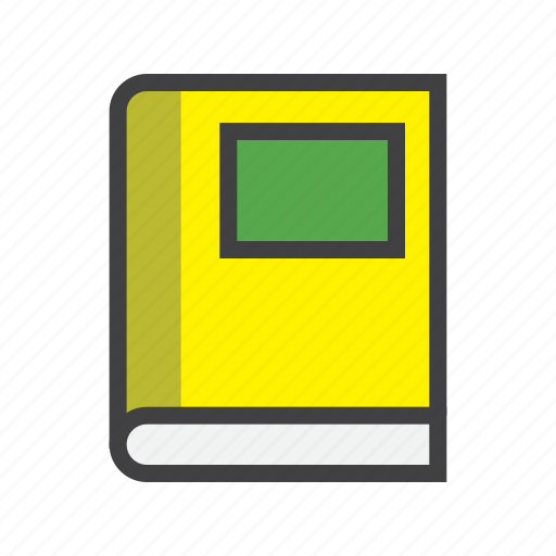 book, material, notebook icon