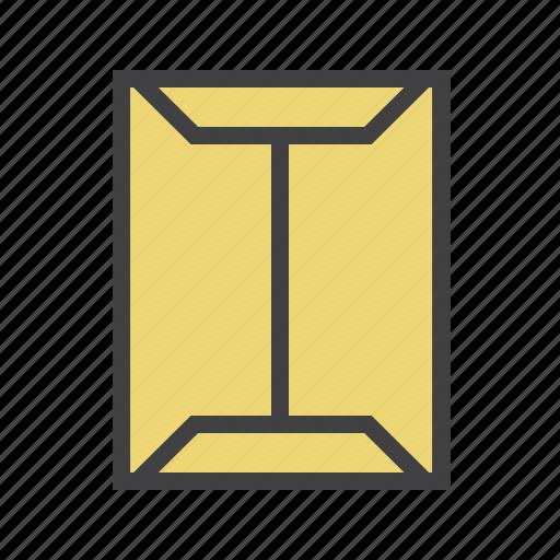 envelope, paper, send icon