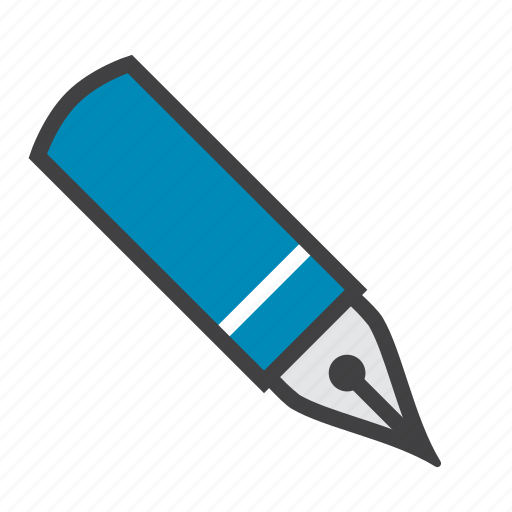 fontain, pen, sign, write icon