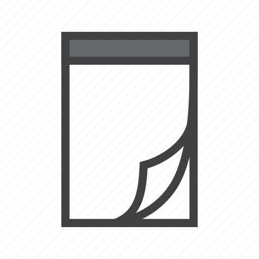 note, notepad, paper, reminder icon