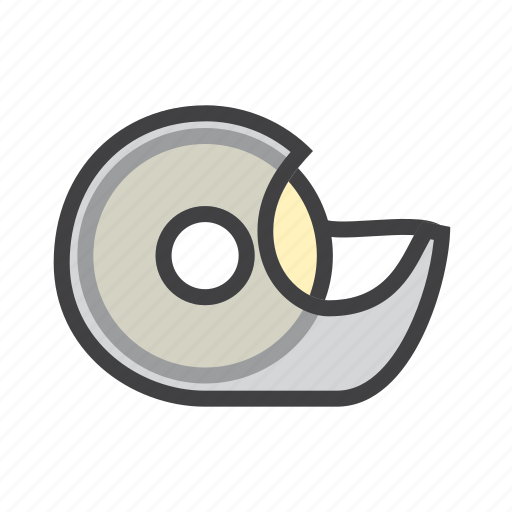 dispenser, fix, tape icon