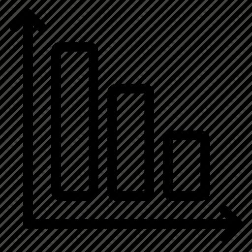 analytics, chart, data, diagram, finance, office, progress icon