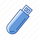 file storage, flash drive, universal serial bus, usb icon
