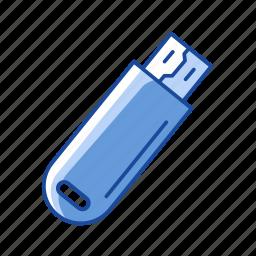 files storage, flash drive, universal serial drive, usb icon