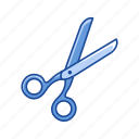 cut, cutter, paper, scissor icon