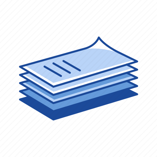 documents, files, notes, paper icon